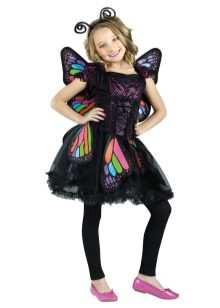 Новогоднее платье для девочки 9 лет бабочка