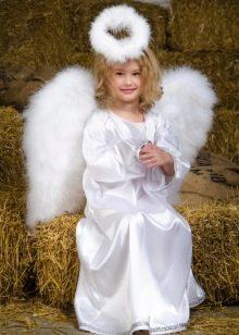 Новогоднее платье Ангел для девочки