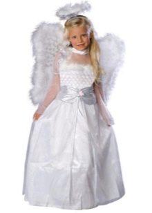 Новогоднее и рождественское платье Ангел для девочки