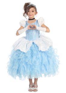 Новогоднее платье Золушка для девочки пышное