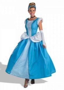 Новогоднее платье Золушка для девочки А-силуэта