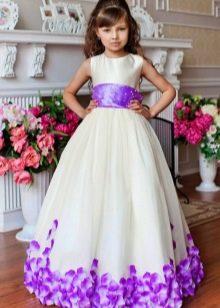 Новогоднее платье в стиле Барби для девочки