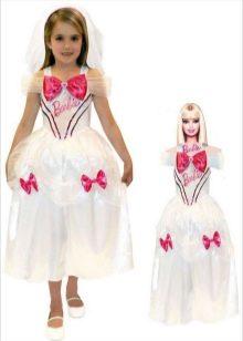Новогоднее платье Барби для девочки