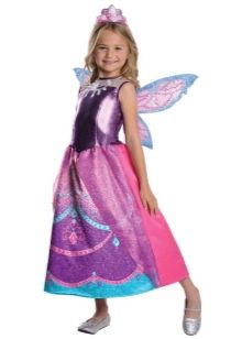 Новогоднее платье Барби феи для девочки