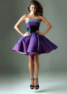 пышное платье из тафты