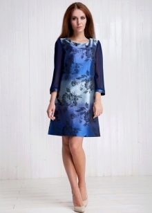 нарядное платье из вискозной тафты