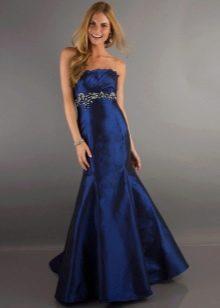платье-русалка из ауетатной тафты
