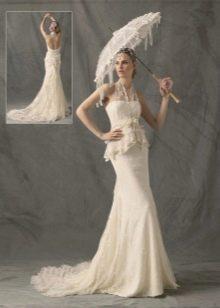 свадебный комплект платье из тафты