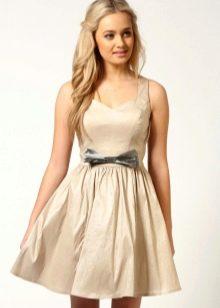 бэби-долл платье из тафты