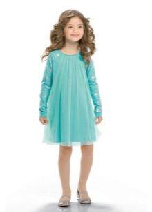 Свободное платье для девочки 5 лет