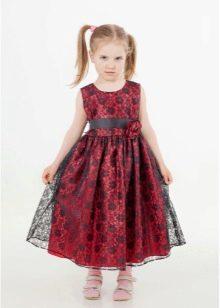 Нарядное платье для девочки 5 лет в стиле ретро