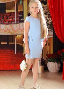 Прямое платье для девочки 5 лет
