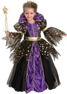 Шикарное  новогоднее пышное платье Королевы для девочки