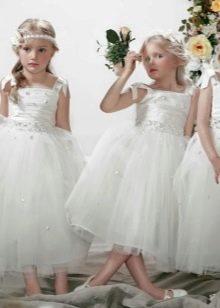 Свадебные пышные платья  для девочки
