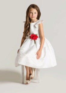 Шикарное  свадебное пышное платье короткое для девочки