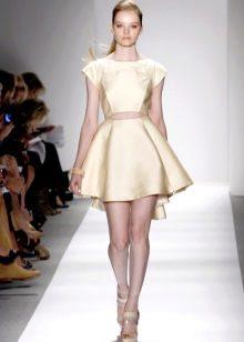 юбка-солнце  из плотного шелка