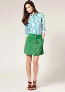 f3307fb67d9 Замшевые юбки (83 фото)  с чем носить юбки из замши