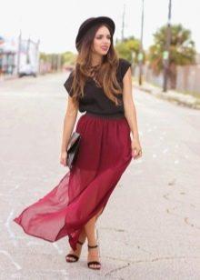 Блузку из юбки просто