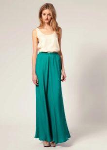 Фотки длинные юбки