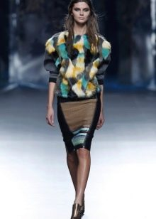 Характеристику материалам юбки