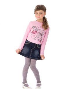 Как сшить джинсовую юбку для девочки из старых джинсов фото 301