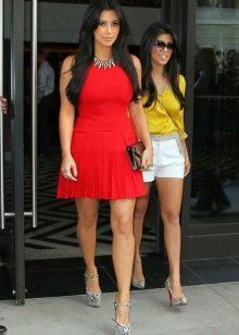 08c699299c6 С чем носить красное платье (69 фото)  с чем можно носить платье ...