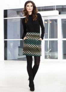 Болоньевые зимние юбки