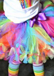 Как сделать юбку из фатина своими руками для девочек фото 5