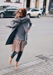 Женские пиджаки которые одевают под длинным платьем