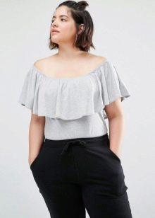 bd7f68c1e75 Блузки для полных женщин (117 фото)  которые стройнят