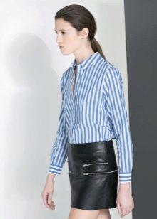 97c9fbff383 Носить рубашку с длинным рукавом можно не только на работу. Она удачно  дополнит повседневные образы в стиле минимализм и street style