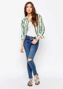 55301fbb6c3 Длинная зеленая рубашка - это идеальное решение для лета