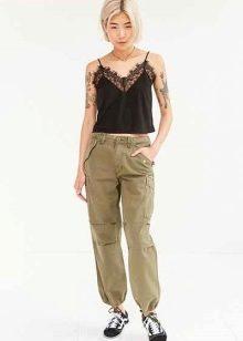брюки милитари женские купить 2