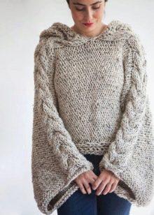 f69cd44d3cf Вязаное платье-свитер – элегантная модель для тех