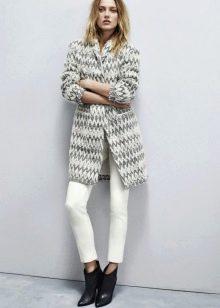 4b1acb46f0b Длинная кофта на пуговицах может стать прекрасной альтернативой легкому  пальто