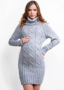 туники для беременных 103 фото осень зима 2019 вязаные платье