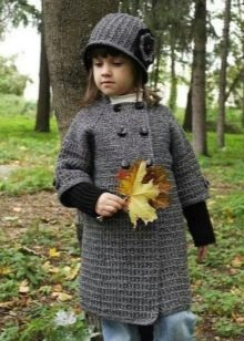 вязаное пальто для девочки 79 фото детское пальто для девочек 1 4
