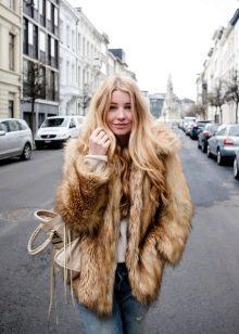 Фото блондинок в чернобурке фото 587-320