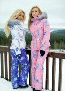 8a0be8e405a Зимние спортивные костюмы (75 фото)  женский костюм для прогулок ...