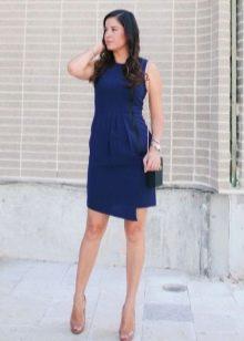 a993b282ee9 Какие туфли подойдут к синему платью  99 фото  красные