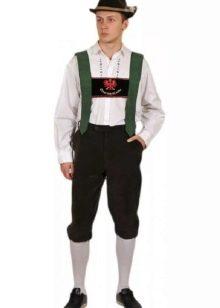 Баварская национальная одежда
