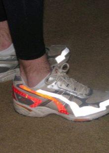 Как сделать рефлективные кроссовки