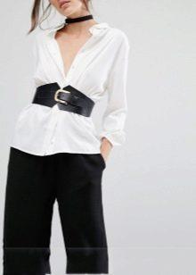 d9e517ad229e Женский широкий ремень (90 фото): под платья и другую одежду, как ...