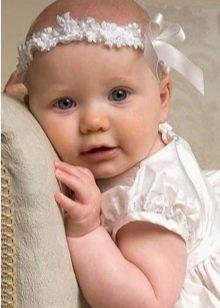 Детская повязка на голову своими руками