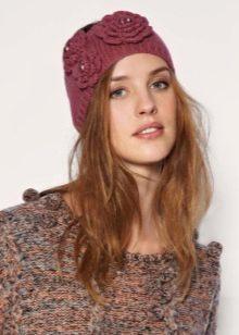 вязаная повязка на голову 65 фото летняя и зимняя для женщин с