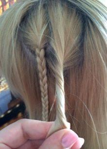 Локоны на волосы до плеч с челкой