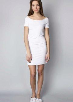 С чем носить белое платье, чтобы быть модной и стильной! – Каблучок.ру   336x240
