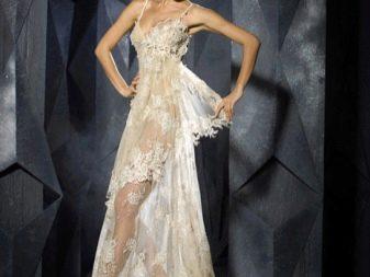 Откровенное свадебное платье Дани Мизрахи