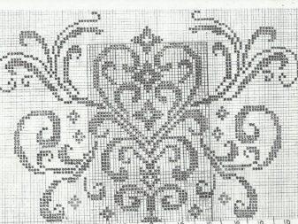 Схема к филейному свадебному топу 3