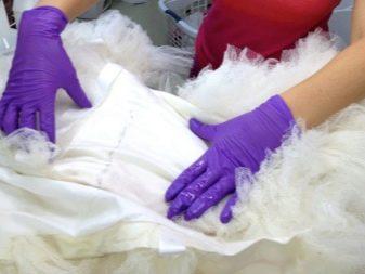 Оценка состояния свадебного платья